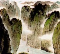 """李白《早发白帝城》""""两岸猿声啼不住,轻舟已过万重山""""古诗原文翻译赏析"""