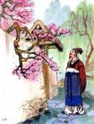 """叶绍翁《游园不值》""""春色满园关不住,一枝红杏出墙来""""全诗翻译赏析"""