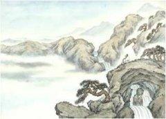 """王维《终南别业》""""行到水穷处,坐看云起时""""古诗原文翻译及注释赏析"""
