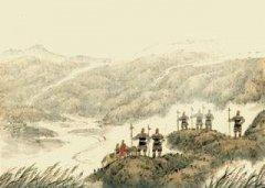 """""""横笛闻声不见人,红旗直上天山雪。""""陈羽《从军行》全诗翻译赏析"""