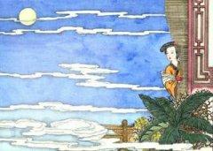 """冯延巳《鹊桥枝》""""撩乱春愁如柳絮,悠悠梦里无寻处。""""全词翻译赏析"""