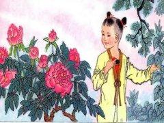 """王溥《咏牡丹》""""枣花至小能成实,桑叶虽柔解吐丝。""""全诗翻译赏析"""