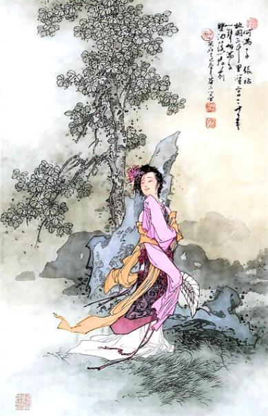 张祜 何满子 故国三千里,深宫二十年 全诗翻译与赏析 学习网