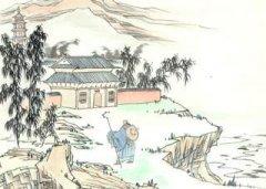 """刘长卿《送灵澈上人》""""苍苍竹林寺 杳杳钟声晚""""全诗翻译赏析"""