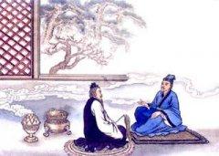 """孟浩然《宴梅道士山房》""""林卧愁春尽,搴帷览物华""""翻译赏析"""