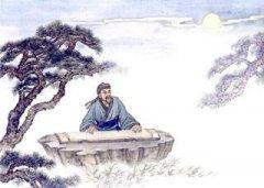 """王维《酬张少府》""""松风吹解带,山月照弹琴""""全诗翻译赏析"""