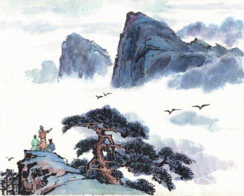 苏轼 题西林壁 配图及翻译赏析