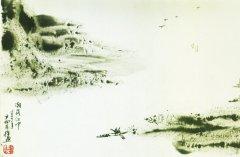 """孟浩然《济江问舟中人》""""时时引领望天末,何处青山是越中""""全诗翻译赏析"""