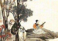 """刘长卿《听弹琴》""""泠泠七弦上,静听松风寒""""全诗翻译赏析"""