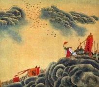 """王昌龄《从军行二首》""""边声摇白草,海气生黄雾""""全诗赏析"""