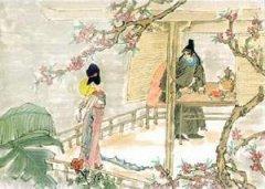 """李商隐《牡丹》""""我是梦中传彩笔,欲书花叶寄朝云""""全诗翻译赏析"""