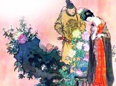 """王昌龄《春宫曲》""""平阳歌舞新承宠,帘外春寒赐锦袍""""全诗翻译赏析"""