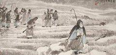 """李白《苏武》""""渴饮月窟冰,饥餐天上雪。""""全诗翻译赏析"""