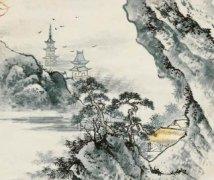 """《溪村即事》""""鹤行松径雨,僧倚石阑云""""全诗翻译赏析"""