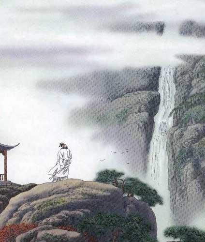 描写山水风光的古诗鉴赏图片