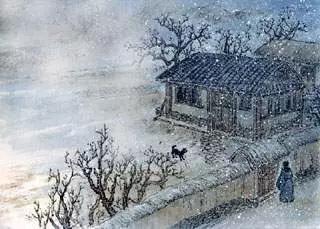 有关描写雪的古诗句鉴赏图片