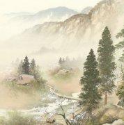 描写山村及乡村的古诗句