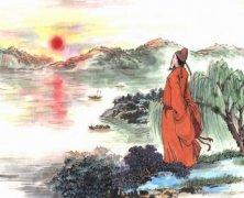 描写夕阳的唯美古诗句